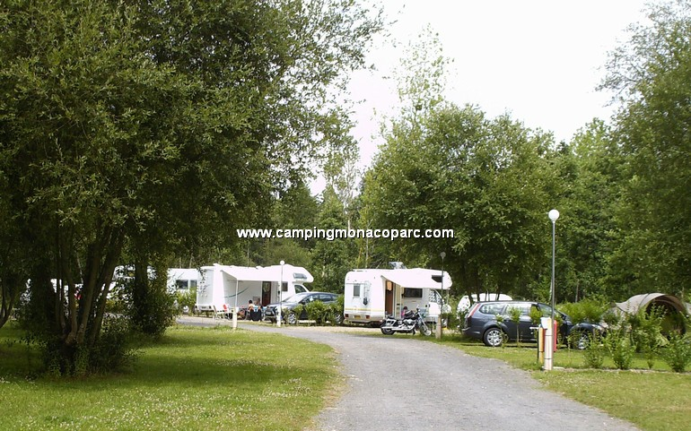 camper and caravan site